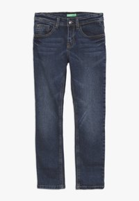 Benetton - TROUSERS - Jeansy Slim Fit - blue - 0