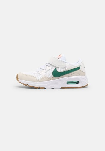NIKE AIR MAX UNISEX - Trainers - white/green noise/summit white/light brown