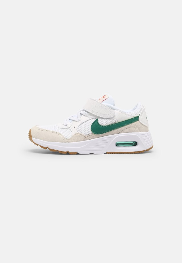 NIKE AIR MAX UNISEX - Sneakers - white/green noise/summit white/light brown