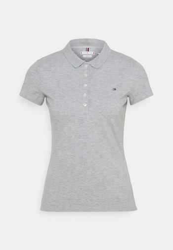 SLIM - Polo shirt - light grey heather