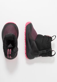 adidas Performance - RAPIDASNOW - Winter boots - core black/real pink/footwear white - 0