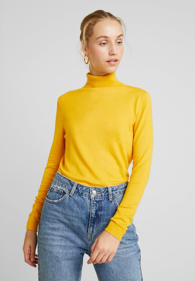VIBOLONIA ROLLNECK - Maglione - golden rod