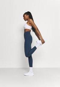 adidas Performance - FEELBRILLIANT DESIGNED TO MOVE TIGHTS - Tights - dark blue - 1