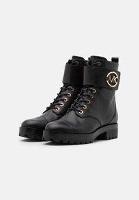 MICHAEL Michael Kors - TATUM BOOT  - Lace-up ankle boots - black - 2