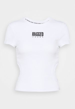 CLOUT TEE - T-shirts med print - white