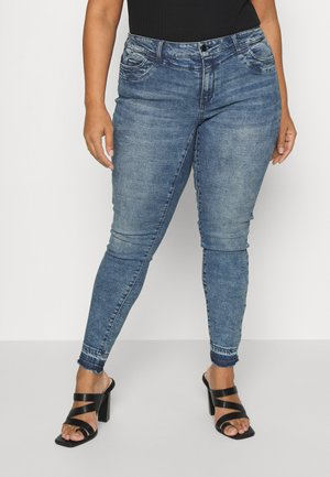 VMHANNA - Jeans Skinny Fit - dark blue denim