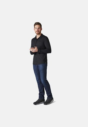 LIGHTWEIGHT SPORT 150 BUTTON UP - Skjorta - black