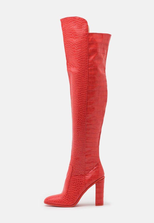 CYNTHIA - High Heel Stiefel - red