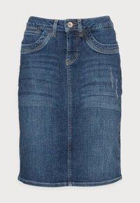 MARIANNE DENIM SKIRT - Denim skirt - denim blue