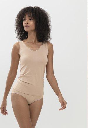 2 IN 1 - Undershirt - cream tan