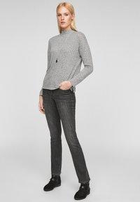s.Oliver - Long sleeved top - grey aop - 1