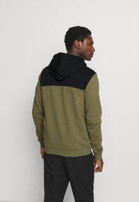 Pier One - Zip-up hoodie - olive - 2