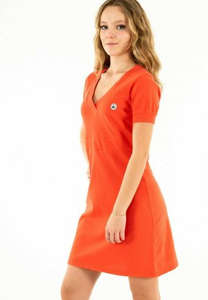 OLI - Jersey dress - rouge