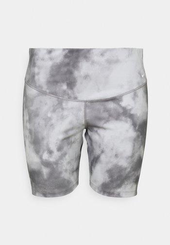 ONE CORE PLUS - Leggings - smoke grey/white