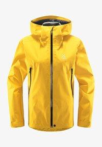 Haglöfs - HARDSHELLJACKE ROC GTX JACKET WOMEN - Hardshell jacket - pumpkin yellow - 4