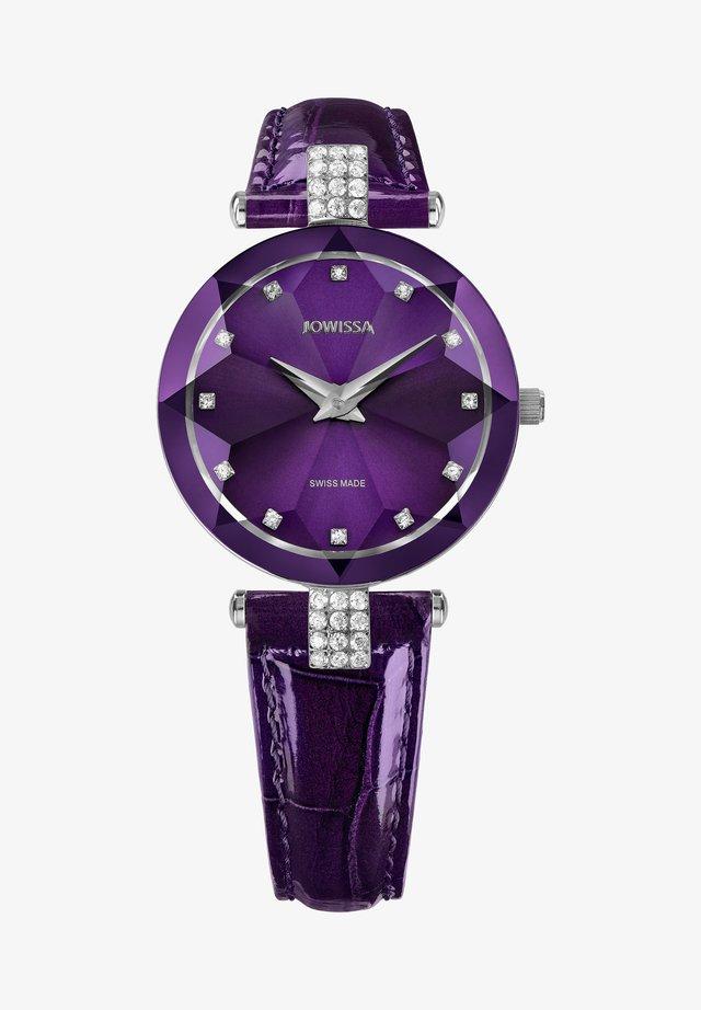 FACET STRASS  - Montre - violett
