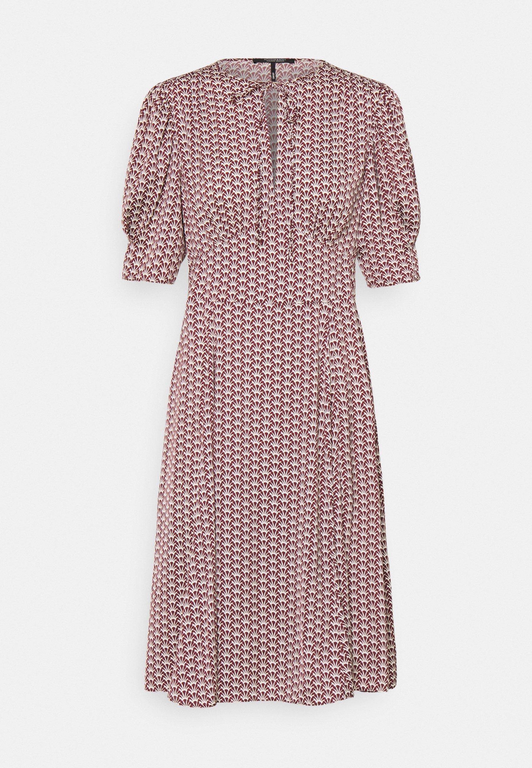 Women DRAPEY MIDI LENGTH DRESS - Day dress