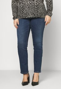 JUNAROSE - by VERO MODA - JRFIVEABENNA - Jeans Skinny Fit - medium blue denim - 0