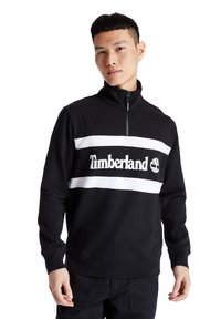 Timberland - CUT AND SEW FUNNEL NECK - Bluza - black - 0