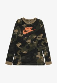 Nike Sportswear - CAMO - Langærmede T-shirts - beechtree/medium olive - 3