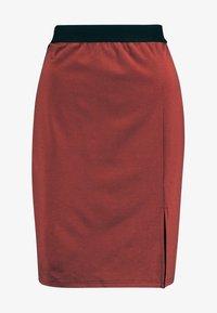 VMARIANA SKIRT - Pouzdrová sukně - mahogany