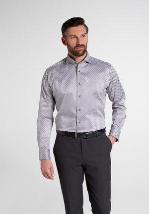 MODERN FIT - Overhemd - grau/schwarz