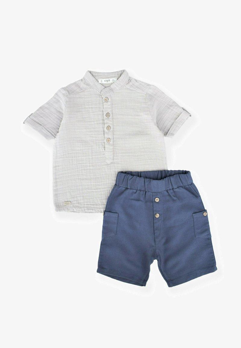 Cigit - SET - Shorts - light grey