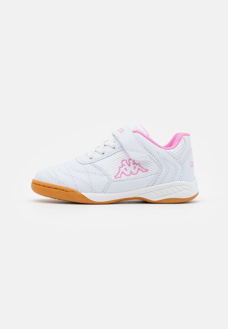 Kappa - DAMBA UNISEX - Sports shoes - white/rosé