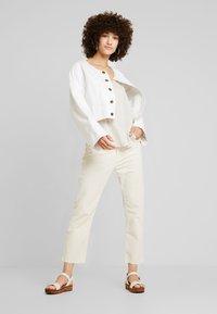 LOIS Jeans - WENDY - Trousers - ecru - 1