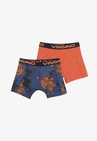 Vingino - TIGER 2 PACK - Pants - dark blue - 3