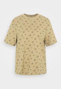 Nike Sportswear - TEE - Print T-shirt - parachute beige - 4