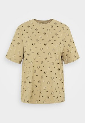 TEE - T-shirts med print - parachute beige