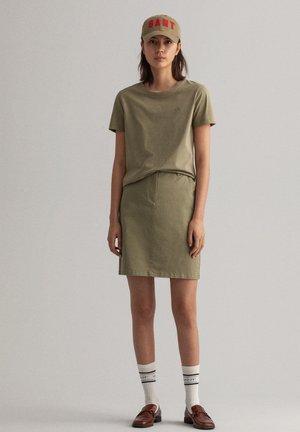 Mini skirt - aloe green