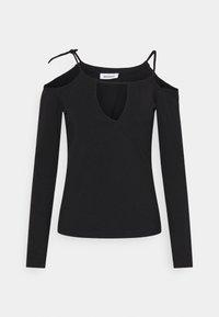 ZIA LONG SLEEVE - Maglietta a manica lunga - black