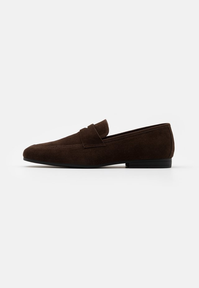 Business-Slipper - dark brown