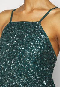 Maya Deluxe - ALL OVER EMBELLISHED CAMI DRESS - Occasion wear - deep teal - 5