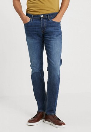 JJIMIKE JJORIGINAL - Jeansy Straight Leg - blue denim
