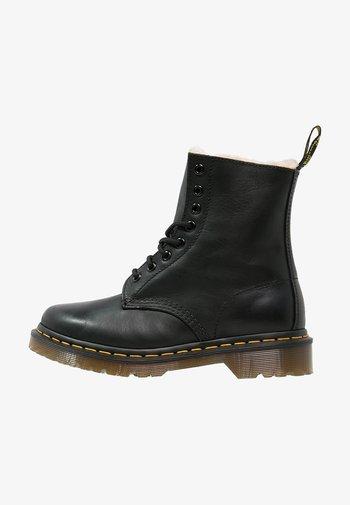 1460 SERENA - Šněrovací kotníkové boty - black