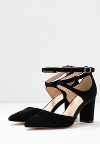 Anna Field - LEATHER CLASSIC HEELS - High heels - black - 4