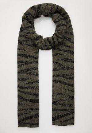 ANIMAL PRINT - Scarf - khaki/black