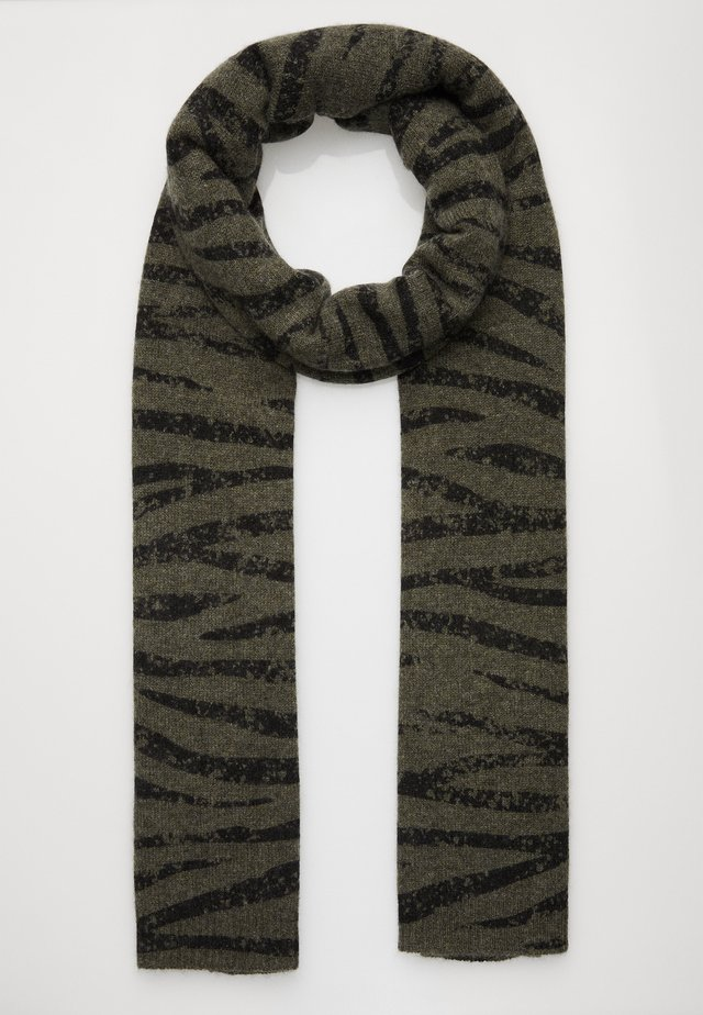 ANIMAL PRINT - Scarf - khaki/black