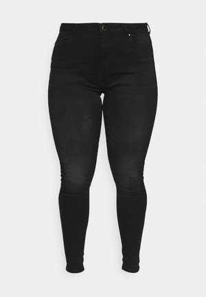 CARLAOLA LIFE - Jeans Skinny Fit - black denim
