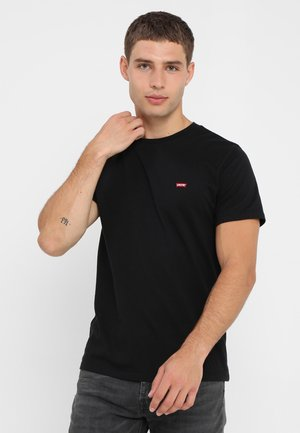 501 ORIGINAL TEE - Print T-shirt - patch black