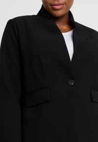 Vince Camuto Plus - STAND COLLAR  - Blazere - rich black - 5