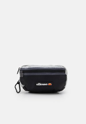 VAVARO BUM BAG UNISEX - Ledvinka - black/light grey