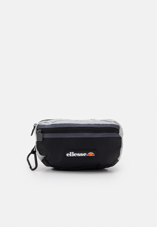 VAVARO BUM BAG UNISEX - Riñonera - black/light grey