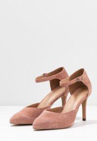 Bianco - BIACAIT ANKLE STRAP - High heels - powder - 4