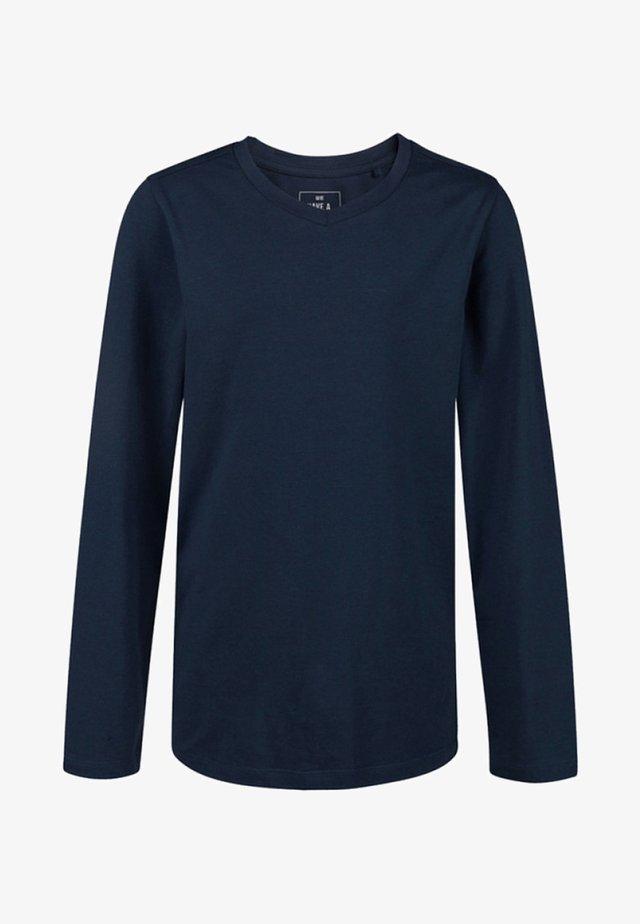 REGULAR FIT - Long sleeved top - dark blue