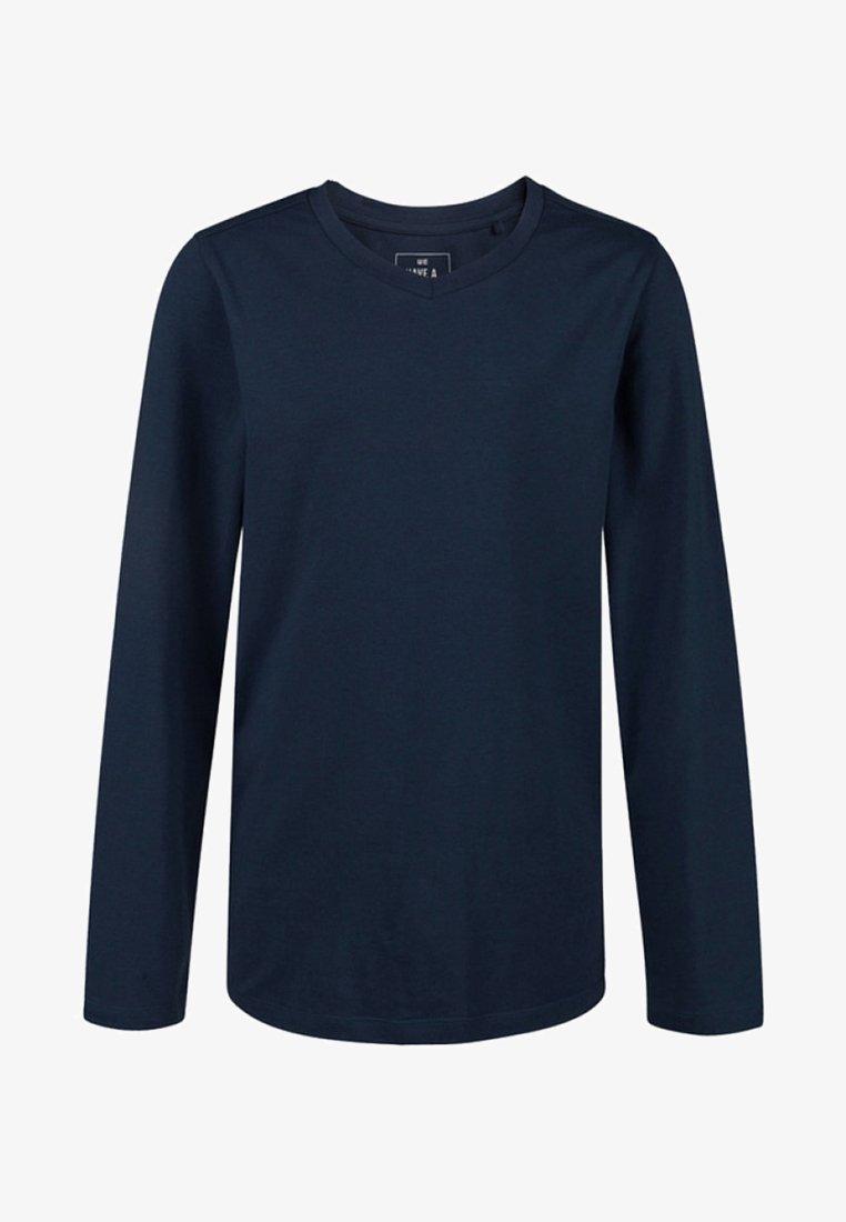 WE Fashion - REGULAR FIT - Long sleeved top - dark blue