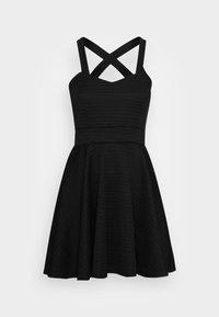 WAL G. - VIKKI SKATER DRESS - Koktejlové šaty/ šaty na párty - black - 3